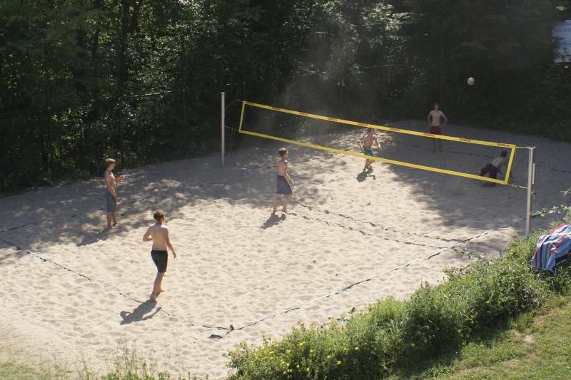 Beachvolleyball Platz